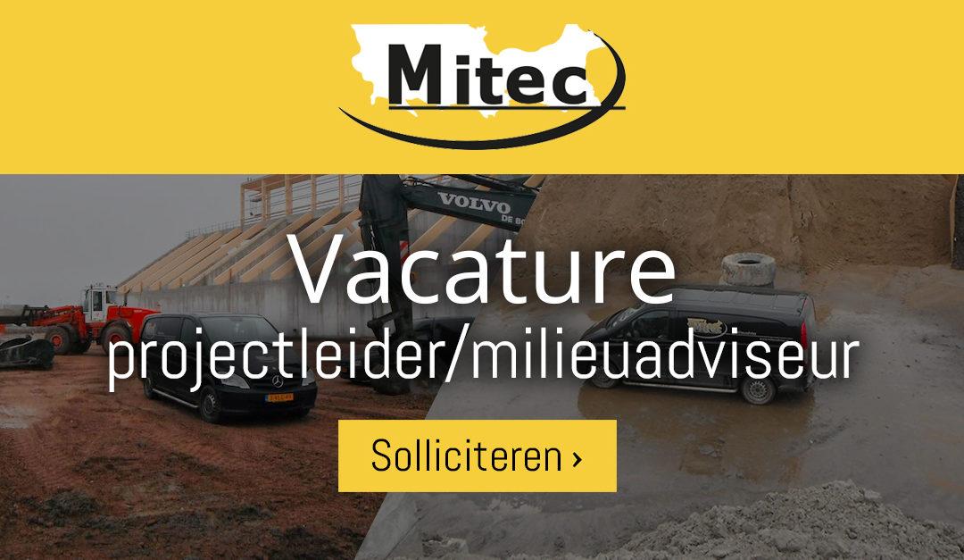 Vacature projectleider/milieuadviseur