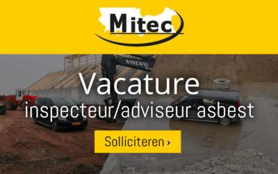 Vacature: inspecteur/adviseur asbest